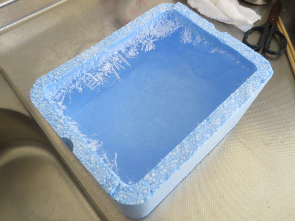 氷 固まる 冷凍庫